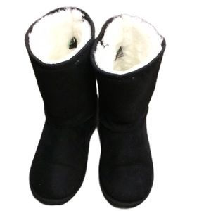 Winter Boots Kid Rain & Snow Boots Black